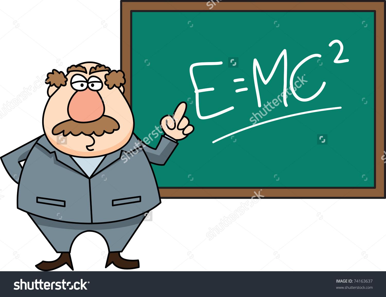 Teacher Front Class Stock Vector 74163637.