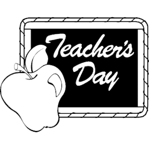 Teacher\'\'s Day 1 clipart, cliparts of Teacher\'\'s Day 1 free.