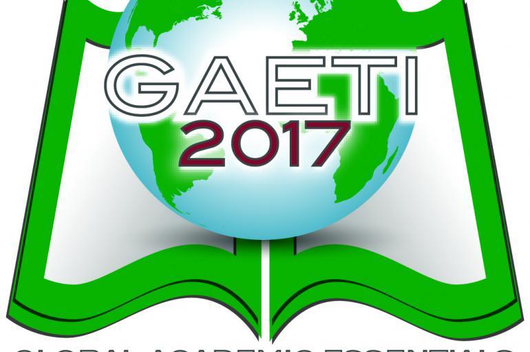 Global Academic Essentials Teacher Institute (GAETI 2017).