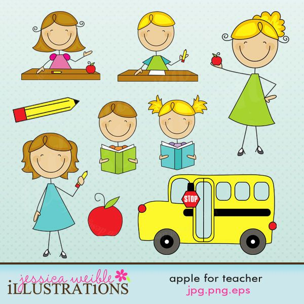 teacher items clipart #2