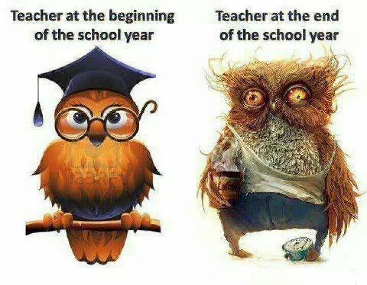 Teacher Last Day Of School Clipart.