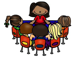 Small Group Instruction Clipart.