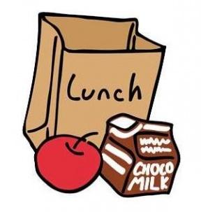 Teacher Lunch Clipart.