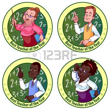 773 Teacher Of The Year Cliparts, Stock Vector And Royalty Free.