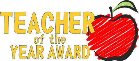 Teacher of the Year Voting.