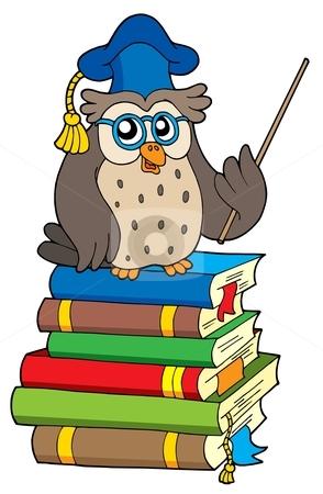 Teacher owl clipart 2 » Clipart Station.