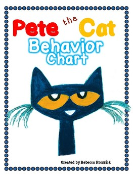 Pete the Cat Behavior Chart.