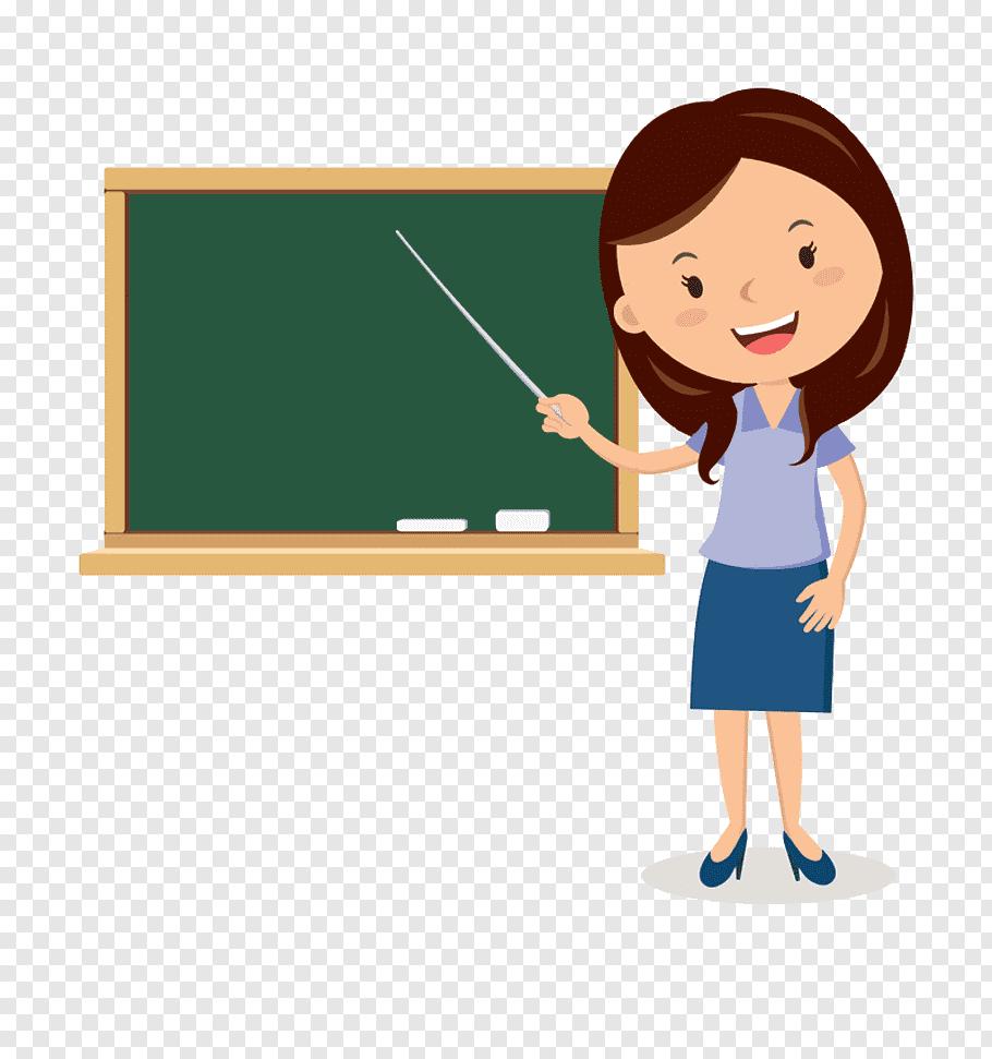 Teacher Cartoon Blackboard, Blackboard cartoon Teachers.