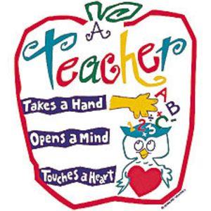 Teacher quotes clipart.