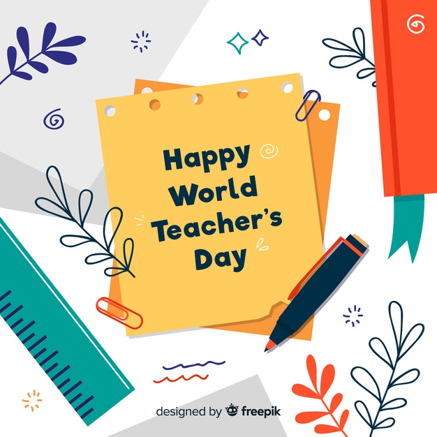 Teachers Day Vectors, Photos and PSD files.