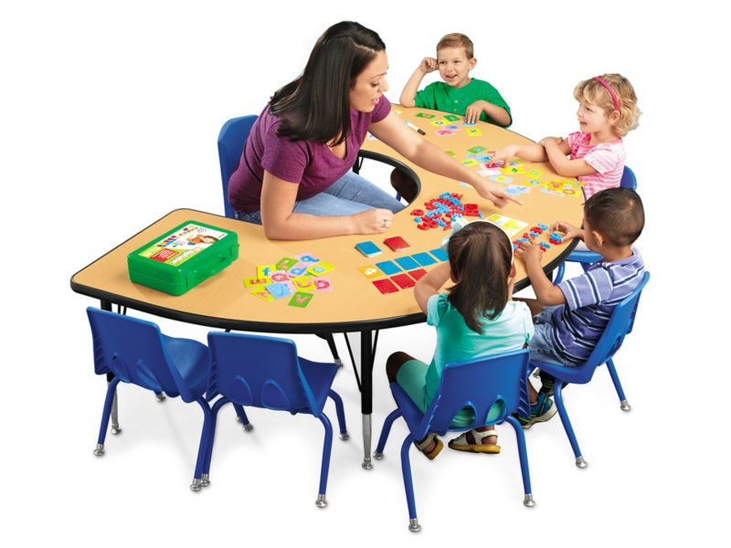 Classic Adjustable Teaching Tables.