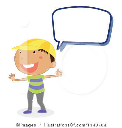Teacher Talking To Children Clipart.