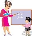 Teacher Clip Art Image.