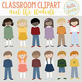 Meet the Class Clipart Pack.