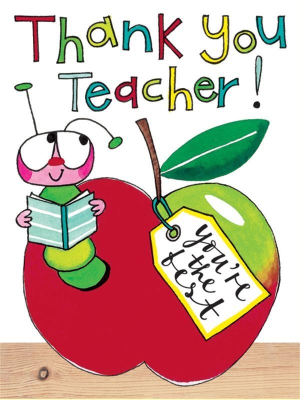 Thank You Teacher Clipart.