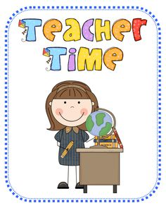 Teacher Time Clipart.