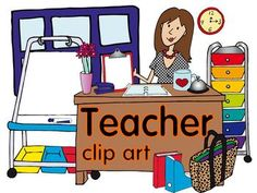 10 Best Teacher clip art images.