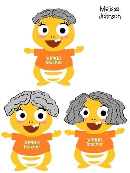 VIPKID Dino Teachers.