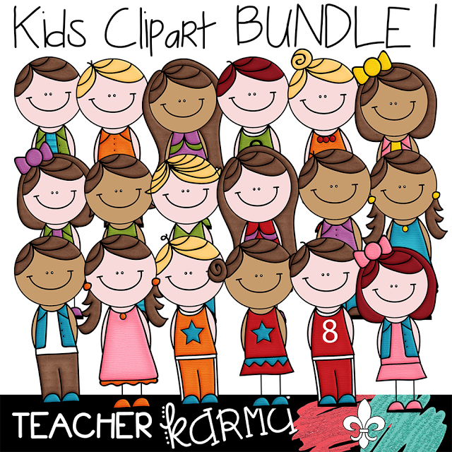 2 FREE Kids: Student Clipart.