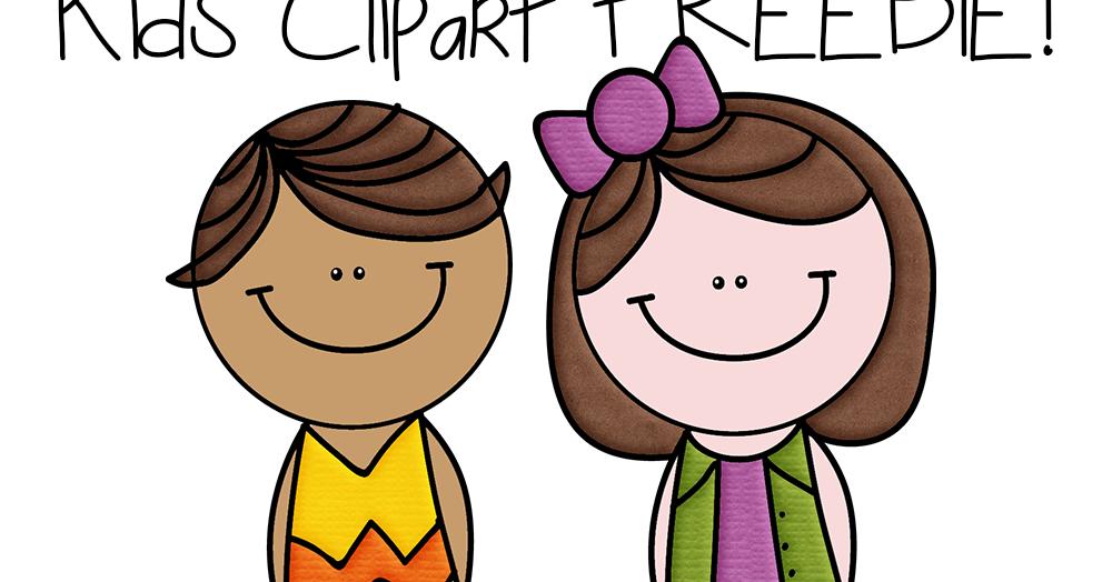 Classroom Freebies: FREE Clipart: 2 Cute Kids.