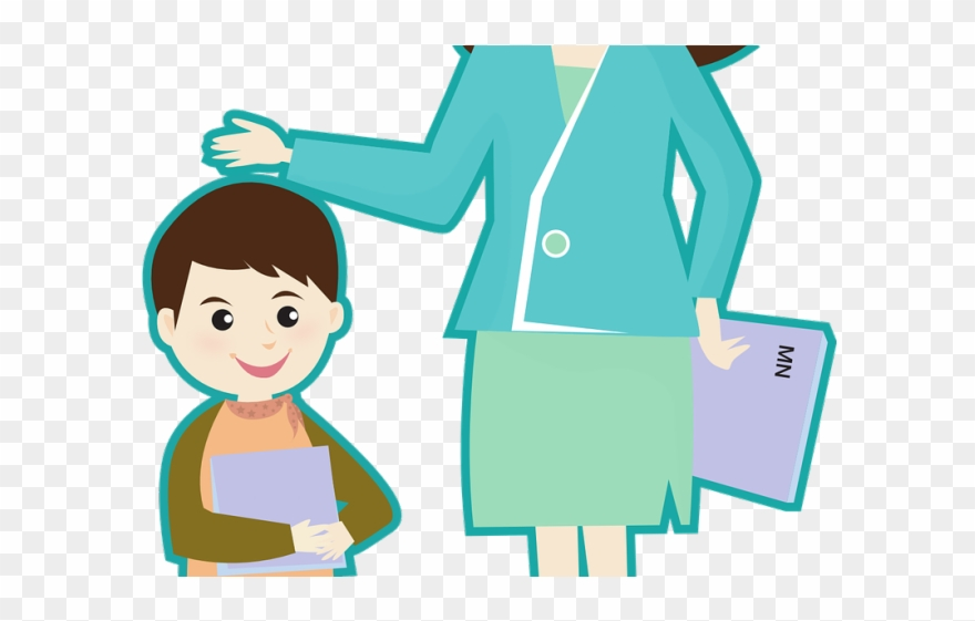 Teacher Clipart Transparent Background.