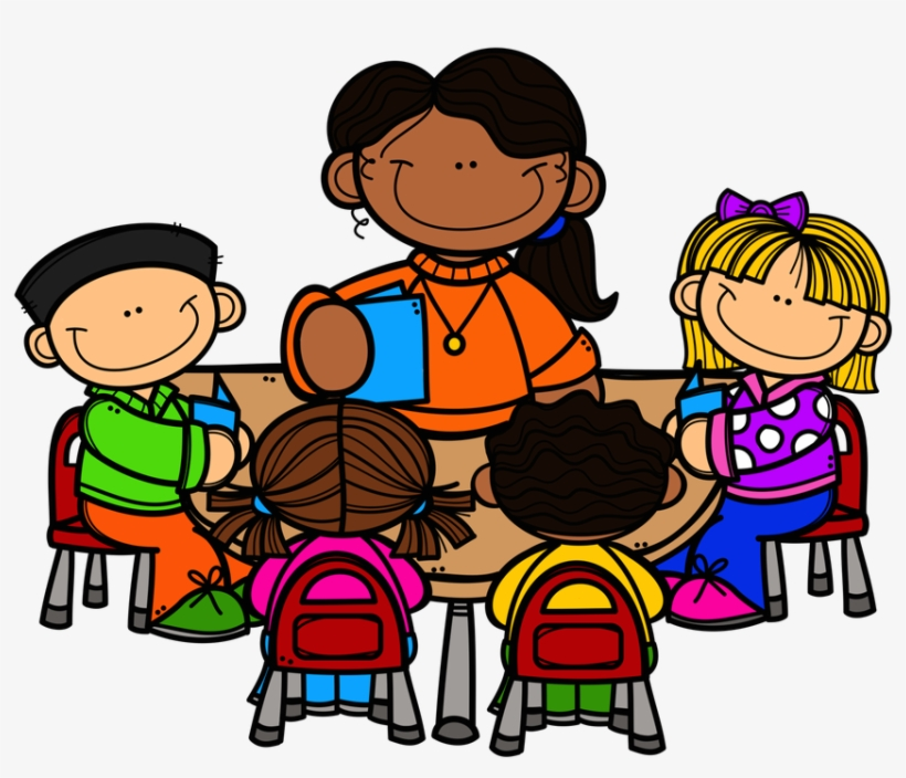 teacher with students clipart transparent #8