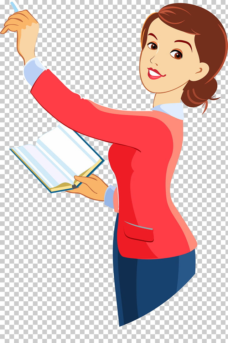 Laborer Teacher Photography Illustration, A woman with a.