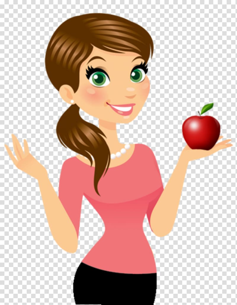 Cartoon Female, teacher kids transparent background PNG.