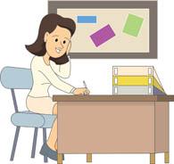 Teacher Office Clipart.