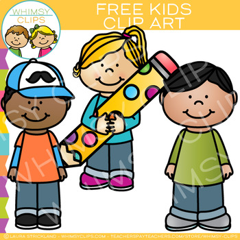 Free Kids Clip Art by Whimsy Clips.