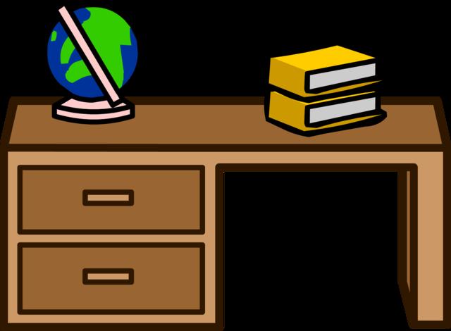 Teachers desk clipart 3 » Clipart Station.
