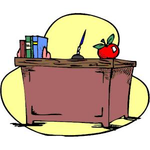 55+ Teacher Desk Clipart.