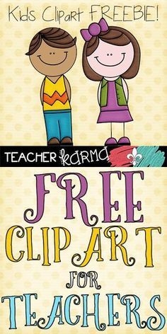 FREE Student Clipart for Teachers.