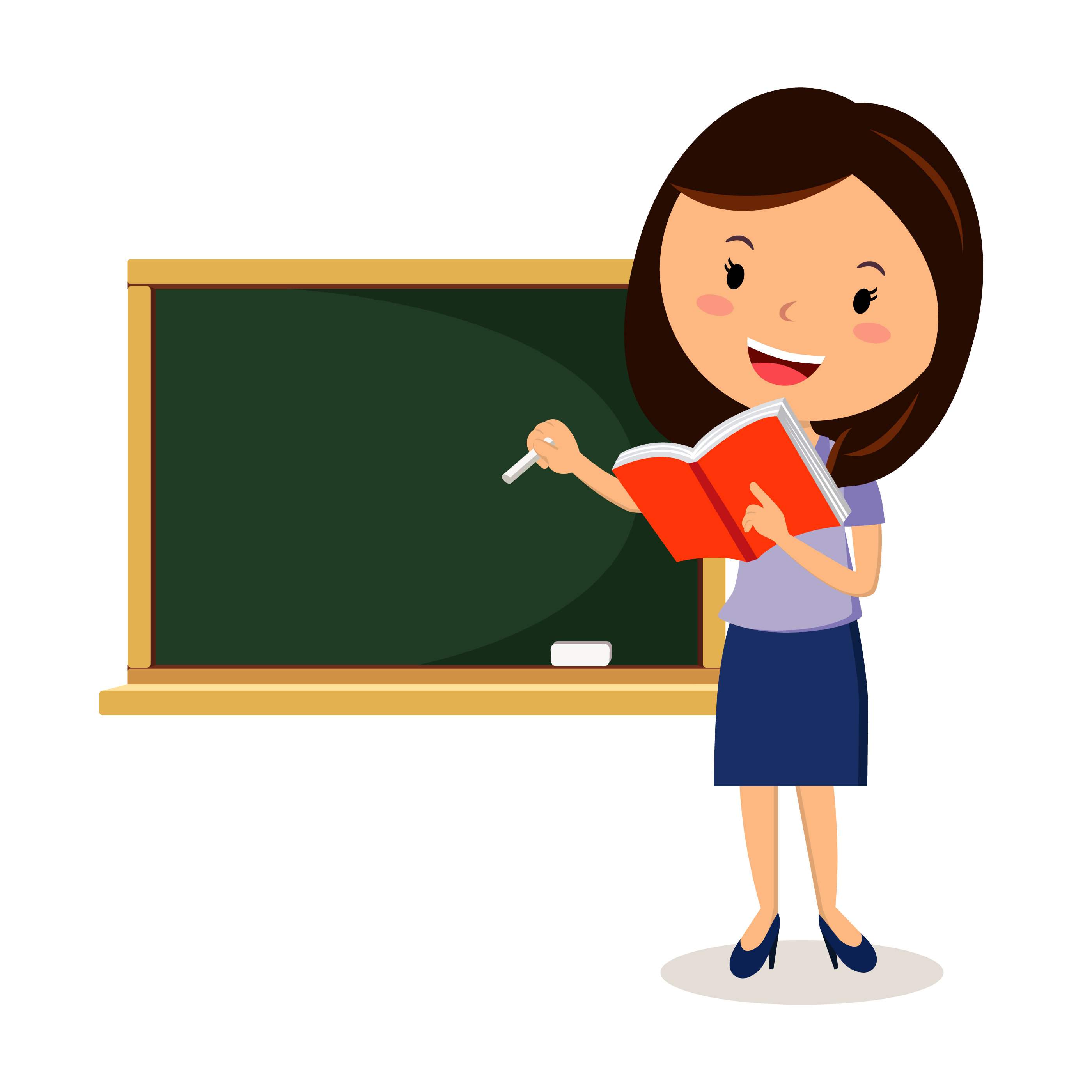 Teacher clipart PNG images free download.