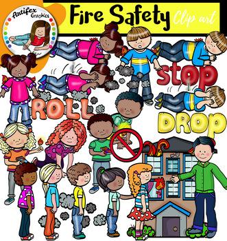 Fire Safety Clip Art.