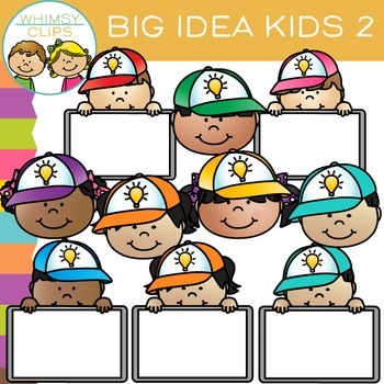 Free Big Idea Kids Clip Art.