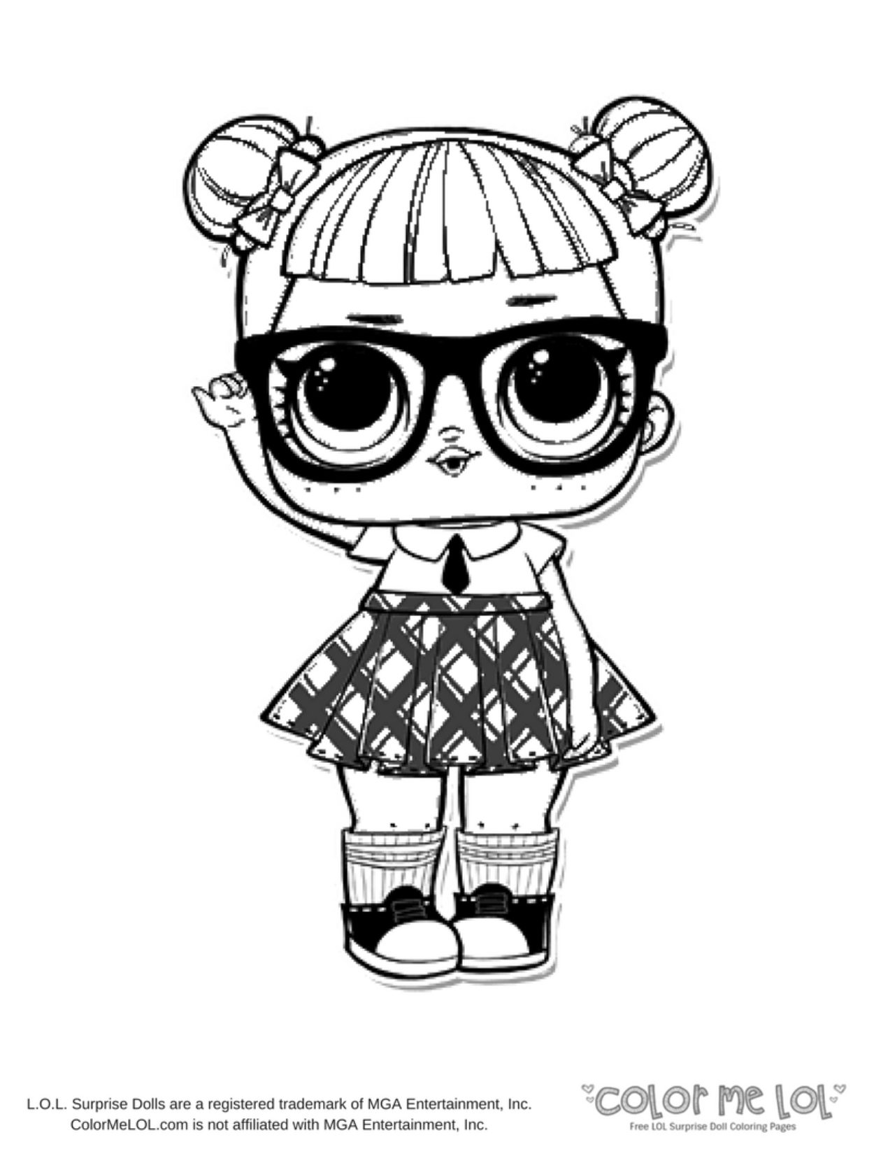 308 Lol Doll free clipart.