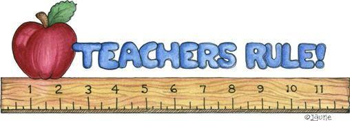 Teachers rule clipart border #clipart #patterns.