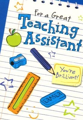 Amazon.com : For a great teaching assistant, Thank you.