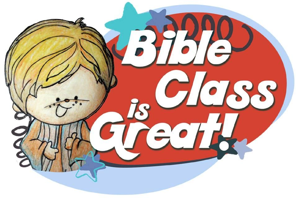 Bible Class Is Great clipart from Lessons4SundaySchool.com.