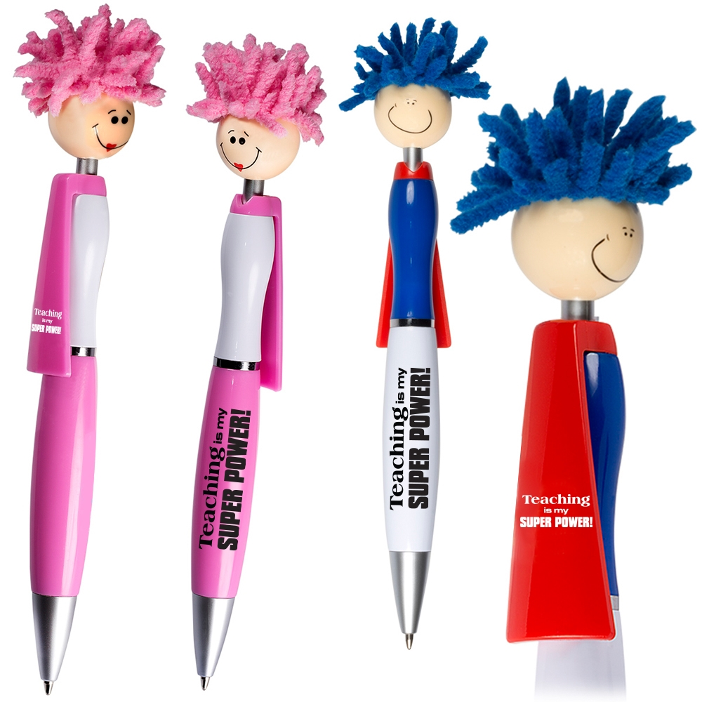 Teaching is My Super Power! Superhero Pen.