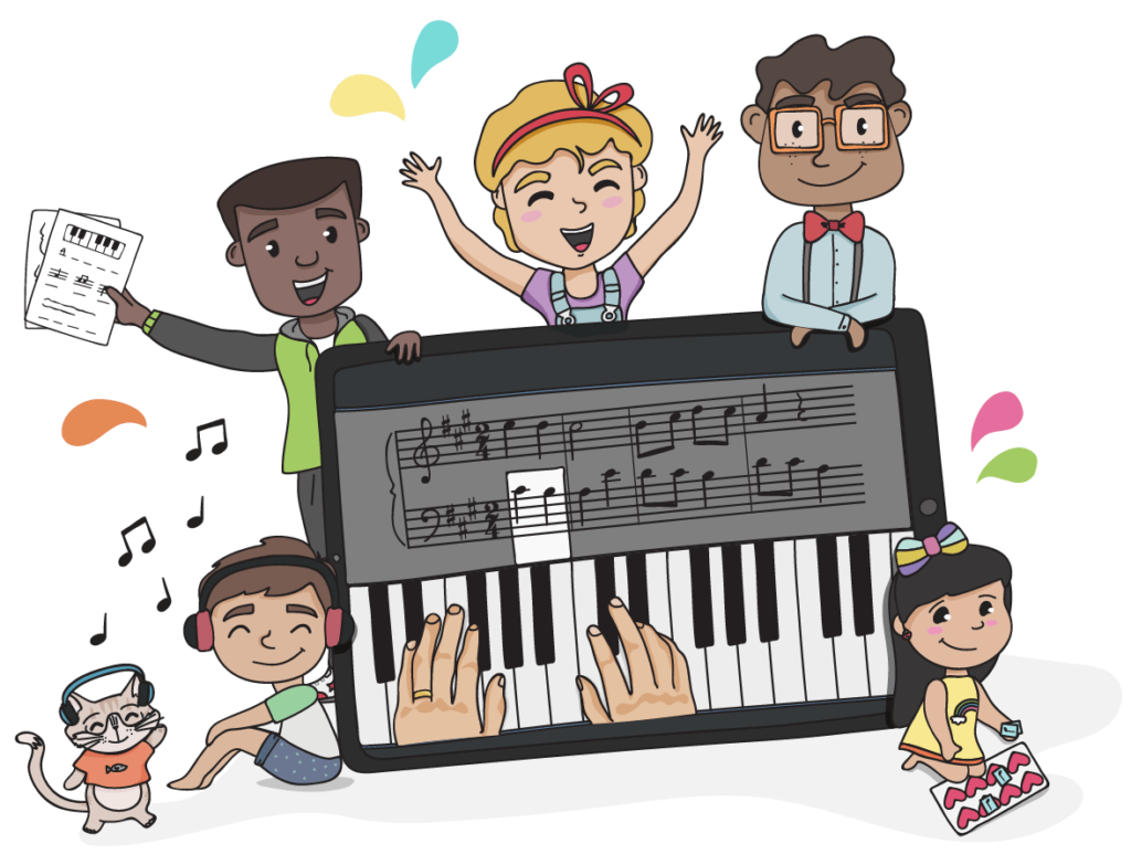 Online Piano Lessons for Kids.
