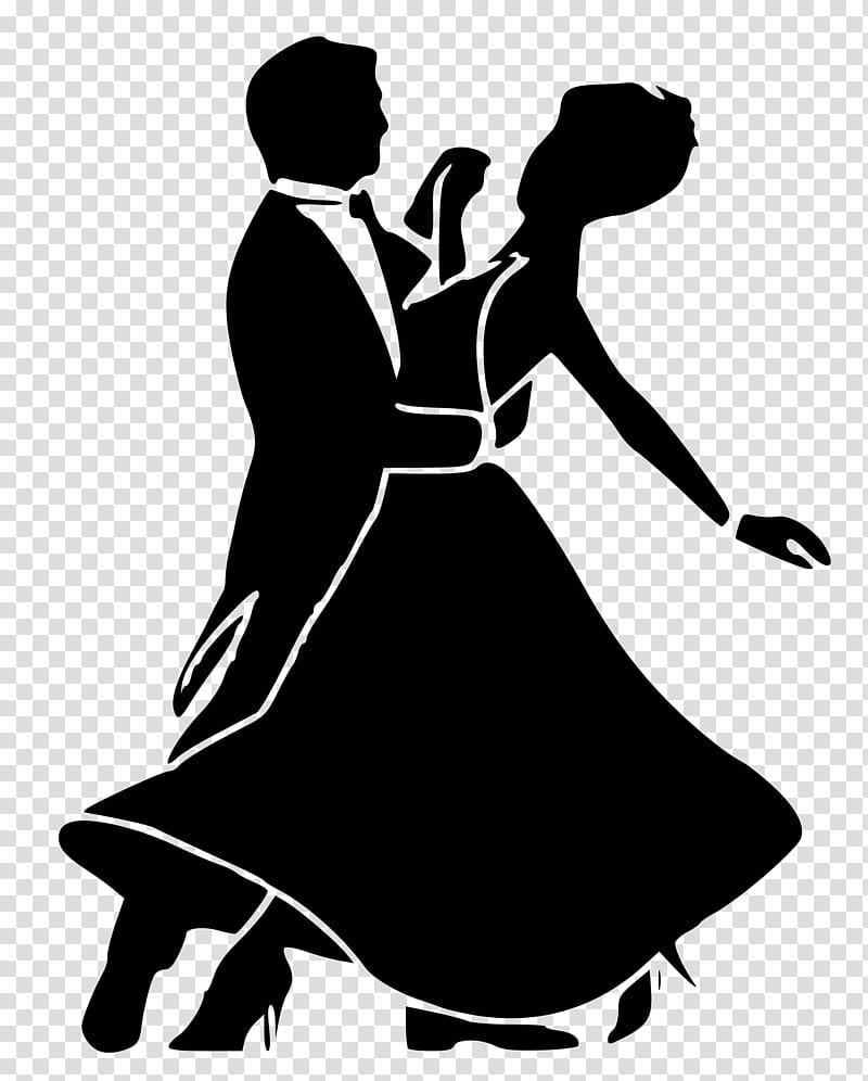 Ballroom Dance Silhouette, Social Dance, Waltz, Basic.