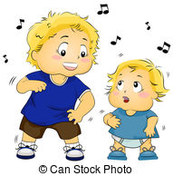 Teaching to dance Clipart and Stock Illustrations. 22.