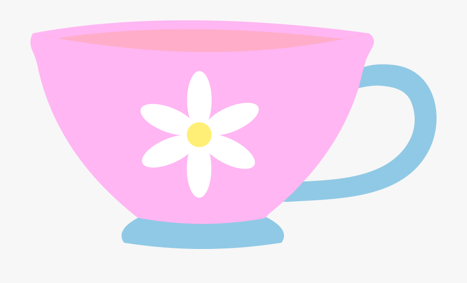 Cute Teacup Clipart.