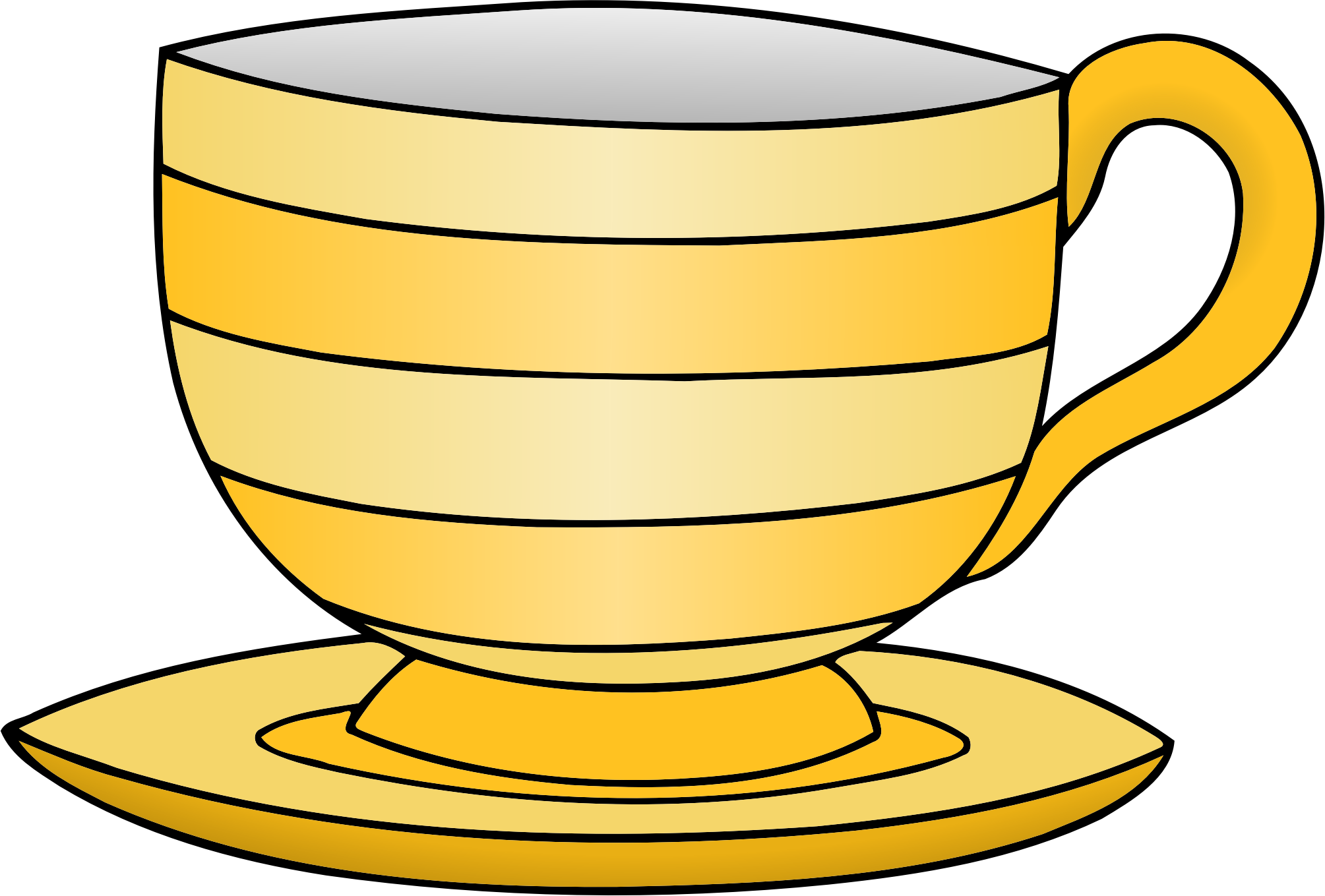 Teacup Clipart Crockery.