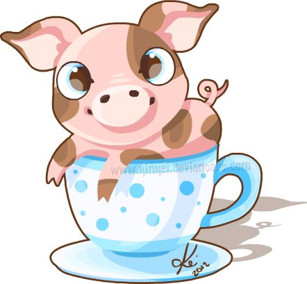17 Best images about Teacup piggies on Pinterest.