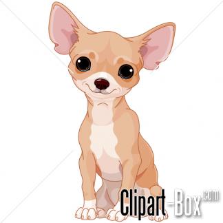CLIPART CHIHUAHUA DOG.
