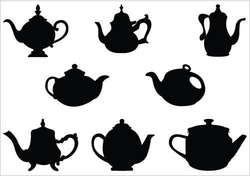 Free Teacup Silhouette, Download Free Clip Art, Free Clip.