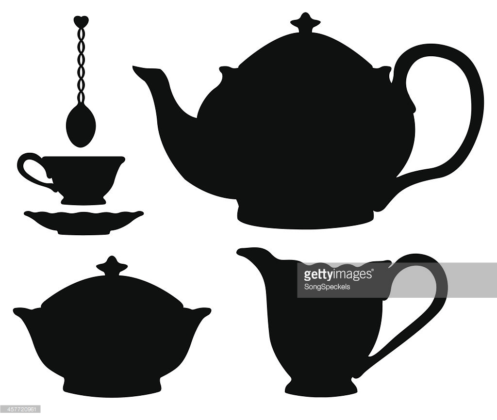 766 Teacup free clipart.